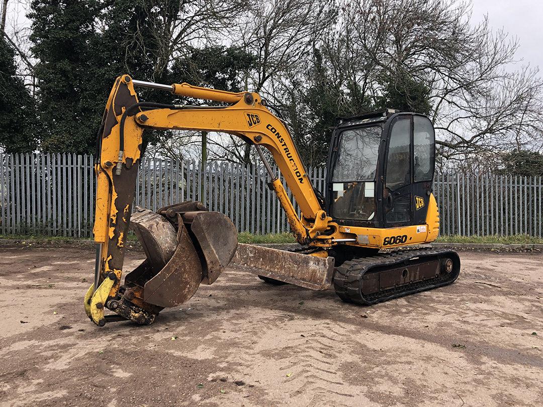 JCB 8060 excavator 1