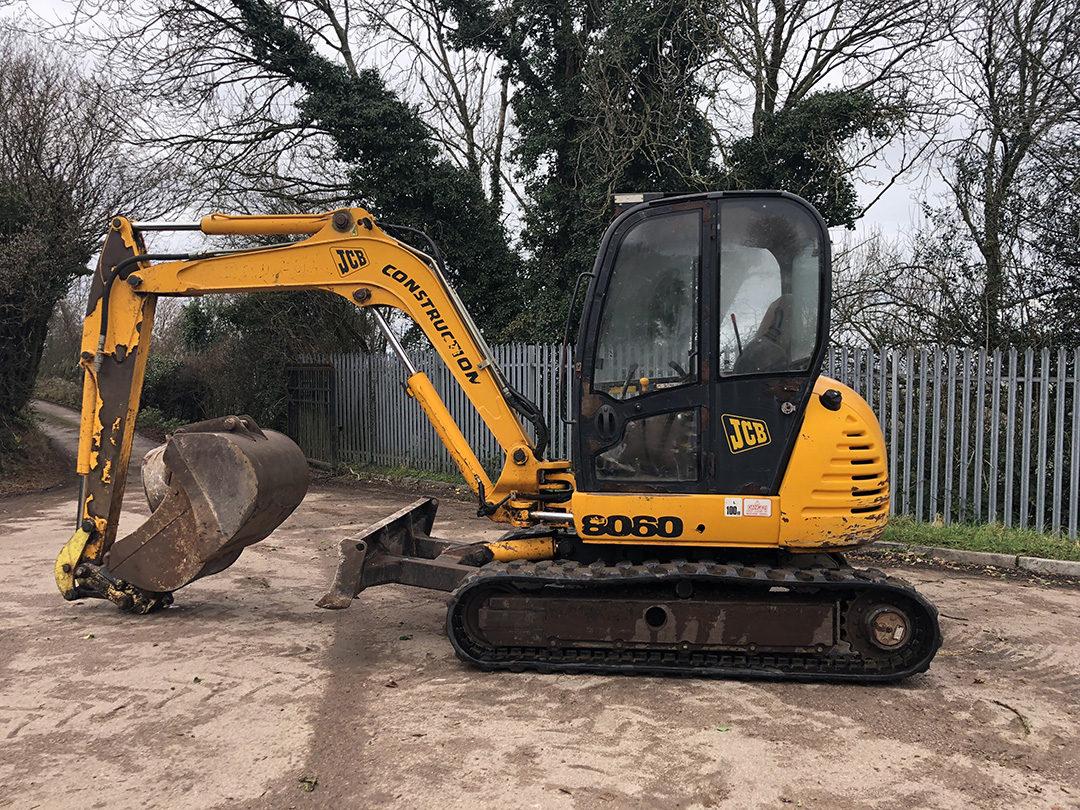JCB 8060 excavator 4