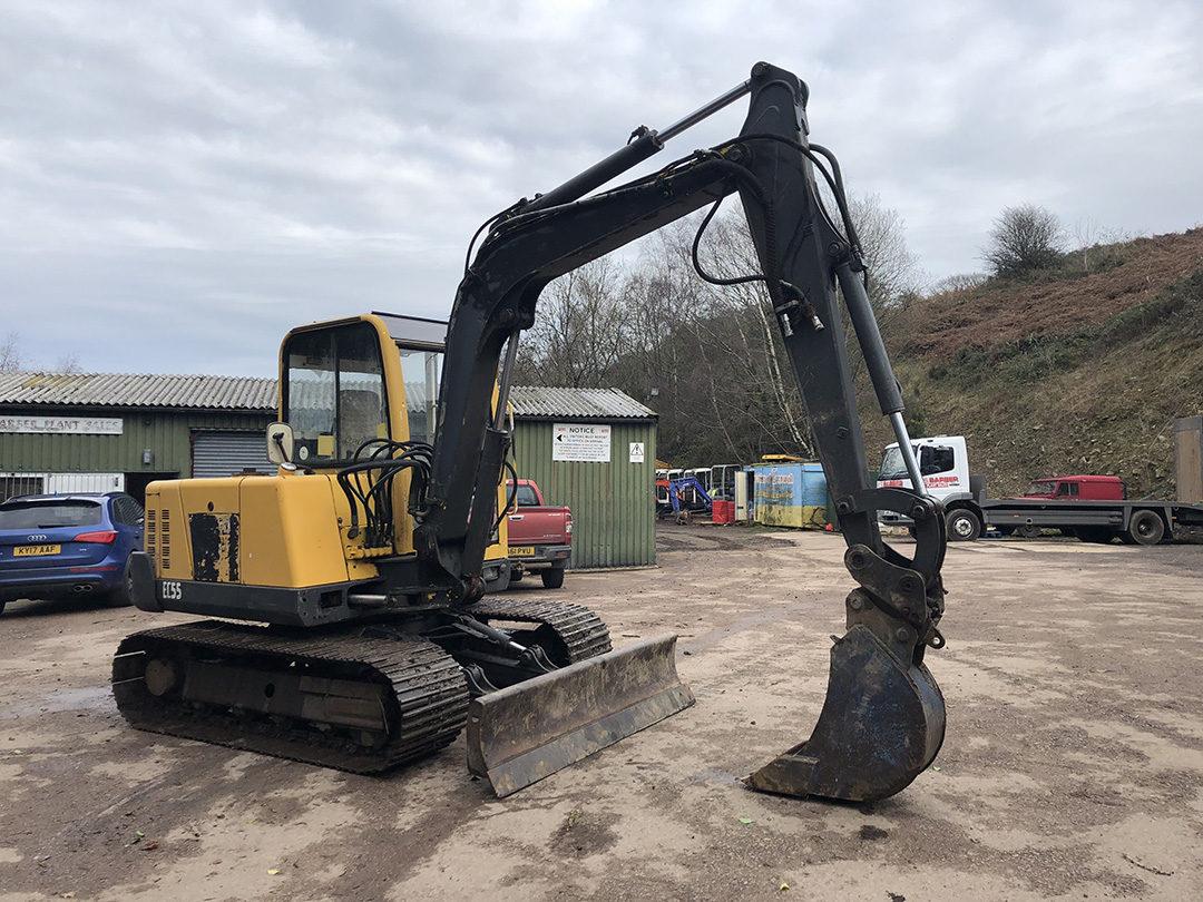 Volvo EC55 excavator 2