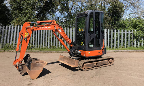 2010 HITACHI ZX22U-2 MINI EXCAVATOR